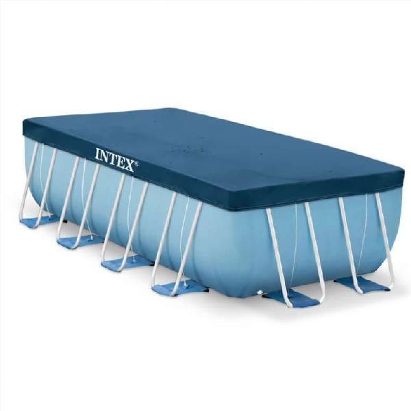 Cubierta de piscina rectangular 400x200 cm 28037