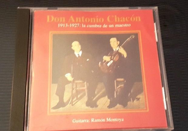 Don antonio chacon cd 1913-1927: la cumbre de un maestro.