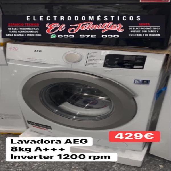 Lavadora aeg 8 lg a+++