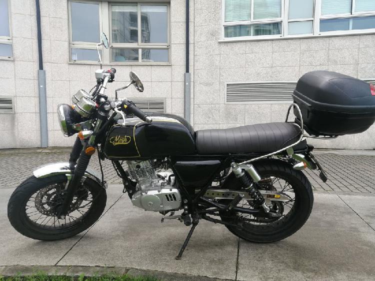 Moto mash black seven 125cc por falta de uso