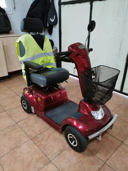 Moto para personas mayores con movilidad reducida