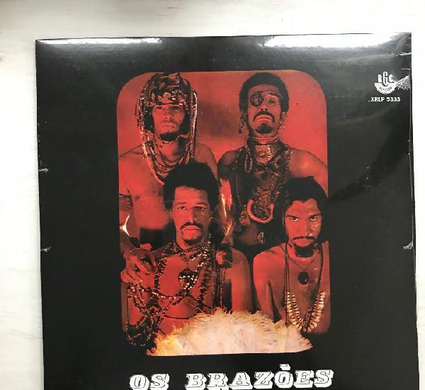 Os brazoes - s/t (1969) - lp reedición mr. bongo 2014 nuevo