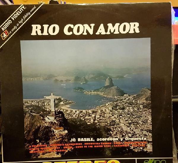 Rio con amor - jo basile, acordeon y orquesta