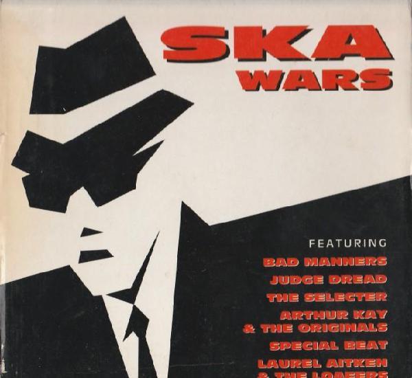 Recopilatorio ska wars - 4 cd - s. tiene su caja de carton