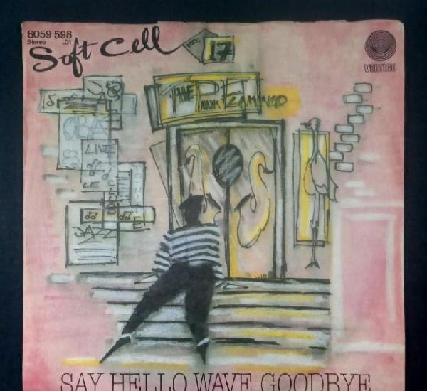 Soft cell - say hello, wave goodbye / bedsitter - single