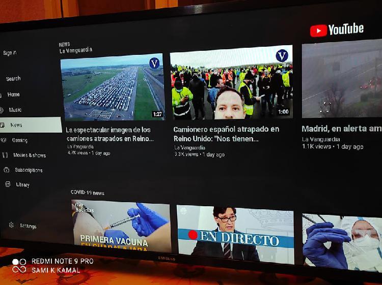 Samsung led 32 pulgadas smart tv