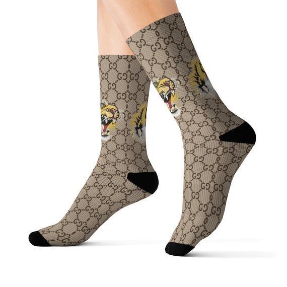 Brand inspired socks, socks socks,custom socks,funny