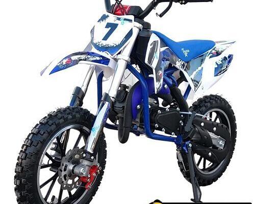Mini cross 49cc falcon azul