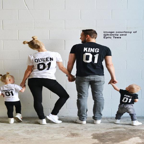 Rey reina príncipe princesa 01 padre madre hija hijo