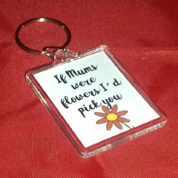 Si mamá era flores te recogería regalos llaveros, regalos