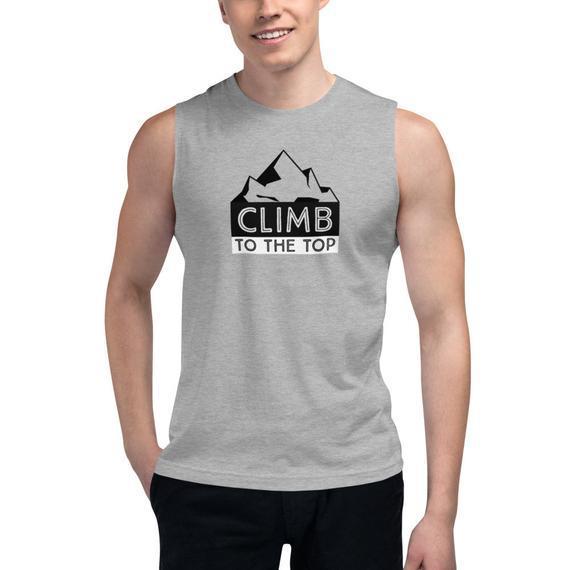 Subir a la parte superior de la camisa muscular