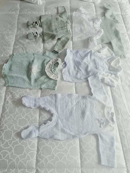 6. lote de ropa bebé de 0 a 3 meses