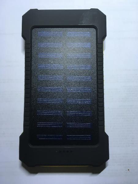 Cargador solar 25000mah