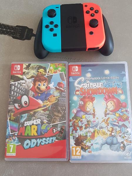 Joy - con nintendo switch + 2 juegos