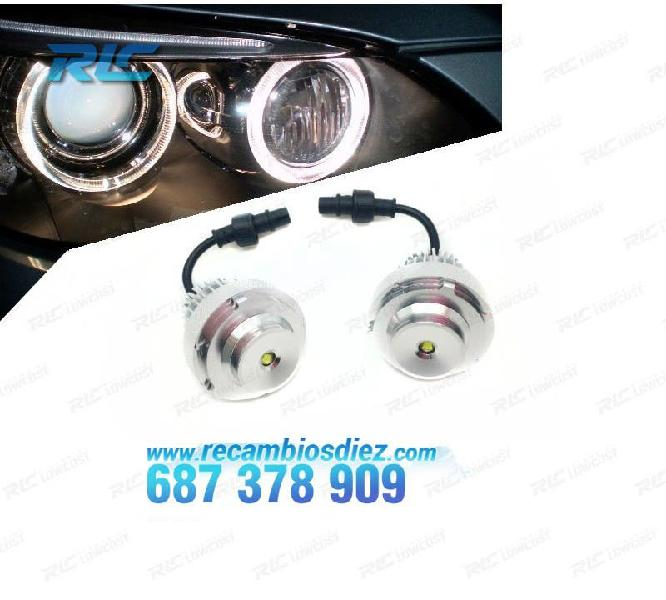 Kit bombillas ojos de angel en led 40w bmw e60 lci