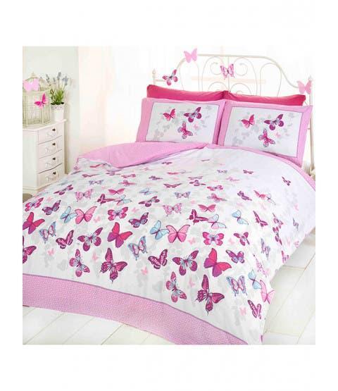 Nueva funda nórdica cama 150 mariposas