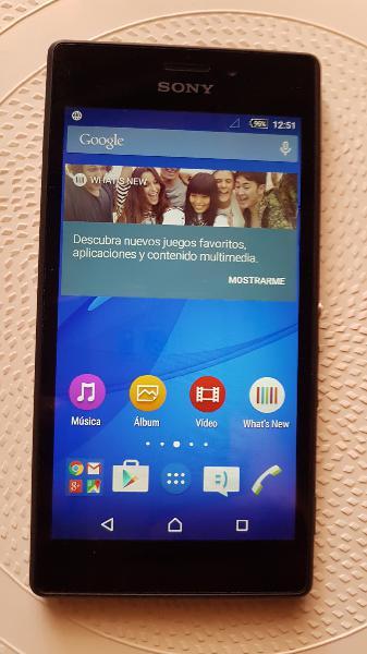 Sony xperia m2 8 gb - negro - libre.