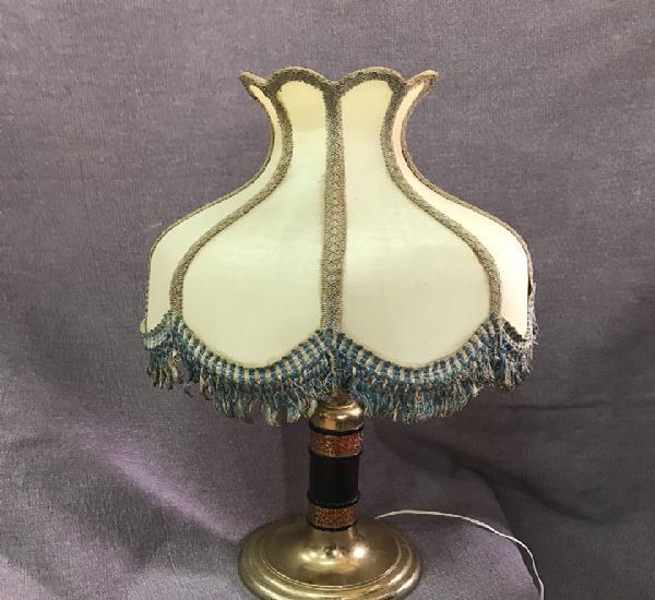 Original lámpara de los años 50 con pantalla original