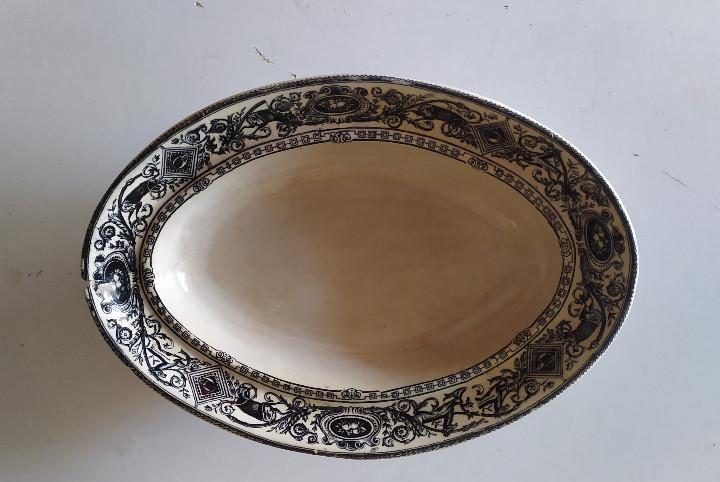 Pie de legumbrera de ceramica de cartagena.