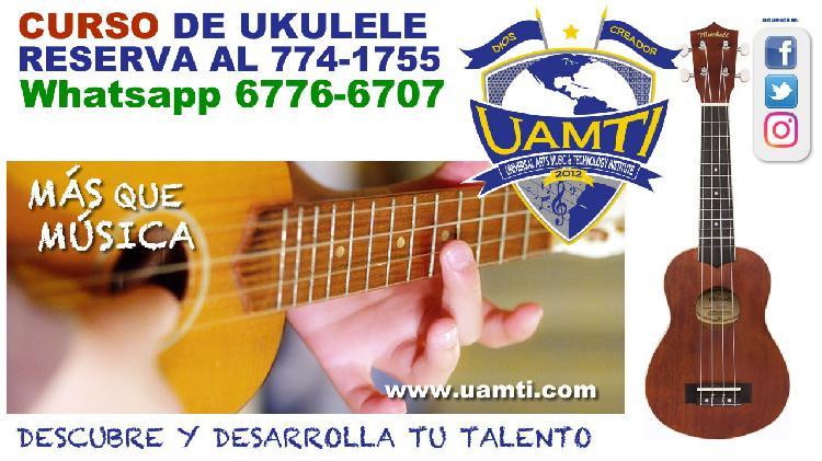 Reserva tu curso de ekelele en #uamti david chiriqui