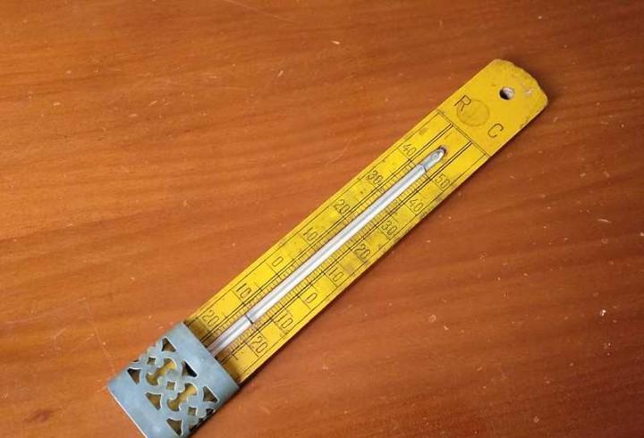Termometro grados reaumur y celsius - centígrados - de los
