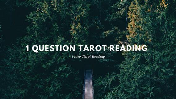 1 pregunta tarot lectura
