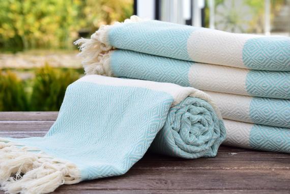 Toalla turca, regalo personificado toalla turca, toalla de