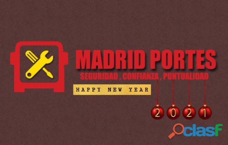 Celebra este nuevo año con MADRIDPORTES