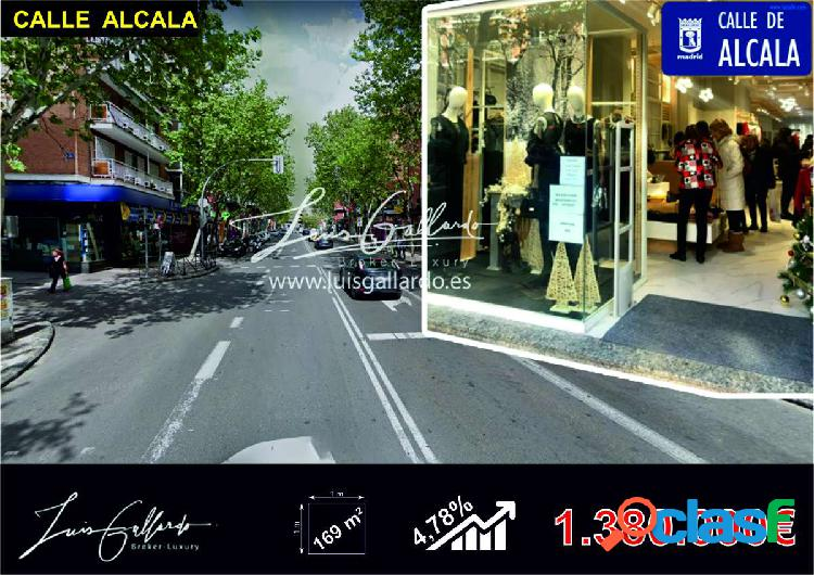 Venta local comercial - pueblo nuevo, ciudad lineal, madrid [300737/local rentabilidad]
