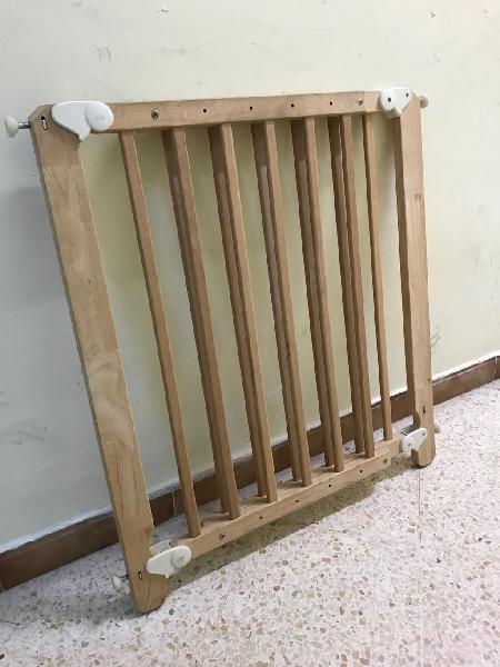 Barrera puerta y escaleras para bebé