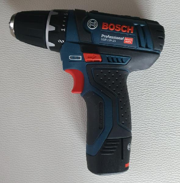 Bosch gsr 12v 15. atornillador taladro