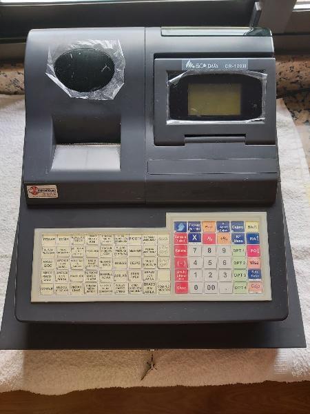 Caja registradora prácticamente nueva