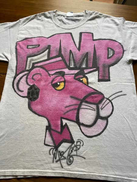 Camiseta pantera rosa