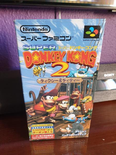 Donkey kong country 2 versión japonesa.