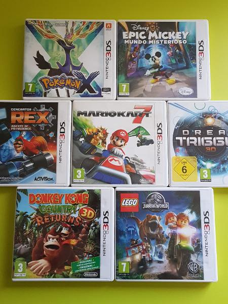 Juegos 3ds pack