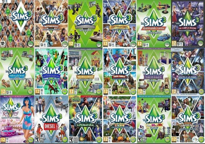 Los sims 3 y expansiones pc
