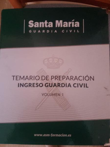 Temario guardia civil 2020