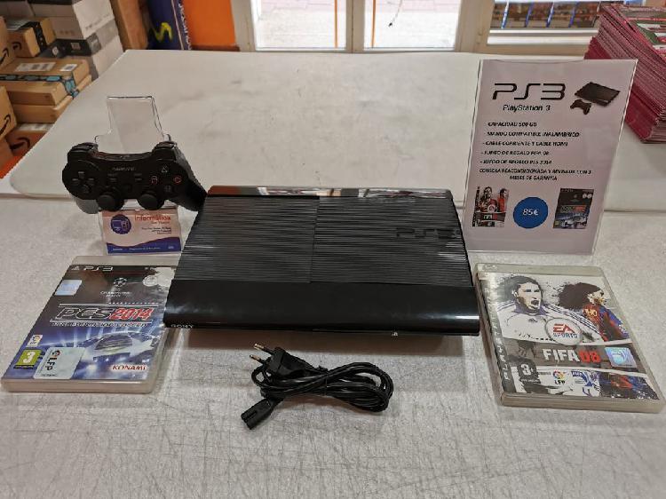 Videoconsola play station 3 / capacidad 500 gb