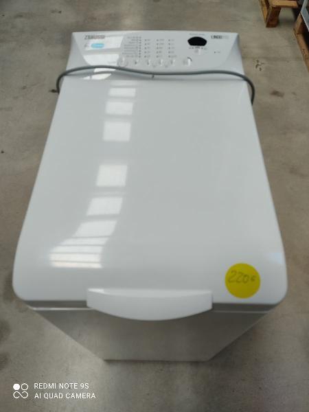 Lavadora carga superior zanussi 6kg