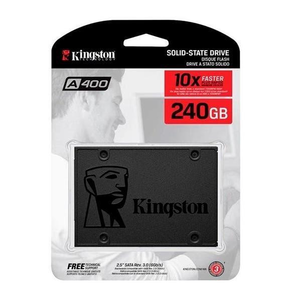 Ssd 240gb nuevo kingston a400 de