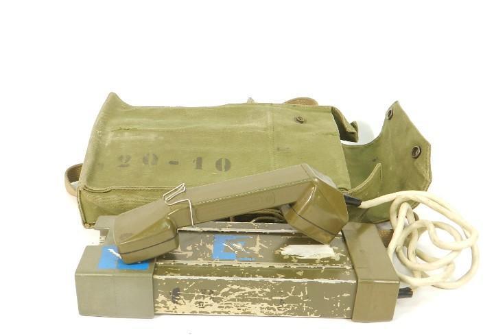 Antiguo telefono militar dpar, año 1970 noruega telephone
