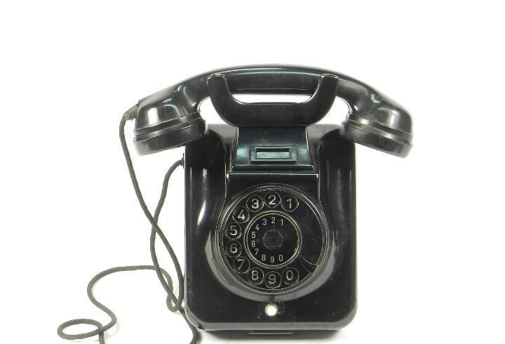 Antiguo telefono w49 reversible año 1959 pared y sobremesa