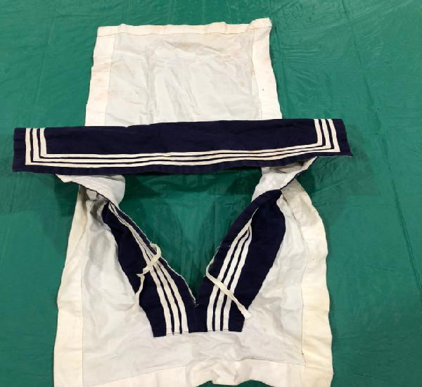Cuello para uniforme militar de marinero. armada española