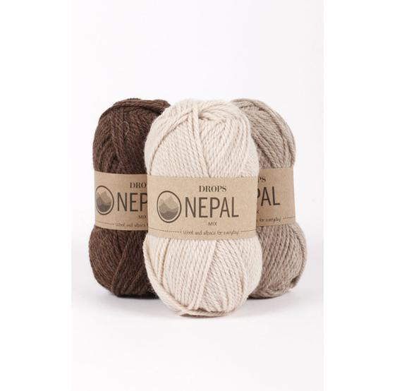 Drops nepal - hilo de lana - hilo de punto - hilo de peso