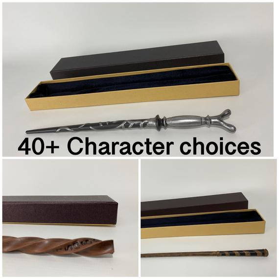 Elige tu personaje replica prop metal core wand cosplay con