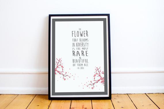 Mulan quote print -