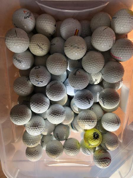 130 bolas golf primeras marcas muy tocadas