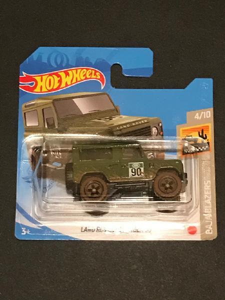 2021 hot wheels #32 - land rover defender 90