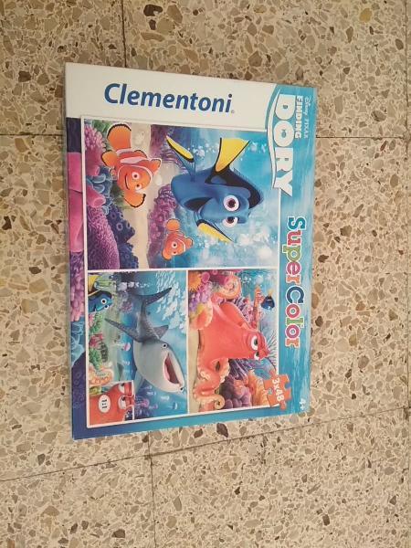 3 puzzles de 48 buscando a dory