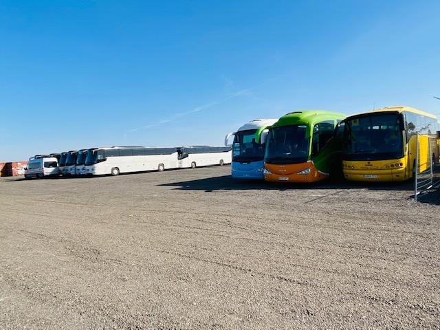 Alquiler parking camiones y contenedores en campa getafe